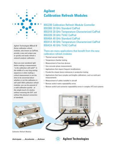 Agilent Calibration Refresh Modules