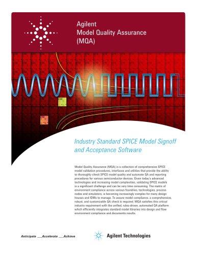 Agilent Model Quality Assurance (MQA)