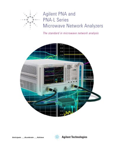 Agilent PNA and  PNA-L Series  Microwave Network Analyzers