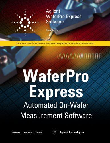 Agilent WaferPro Express Software