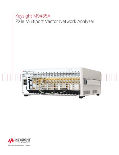Keysight M9485A  PXIe Multiport Vector Network Analyzer