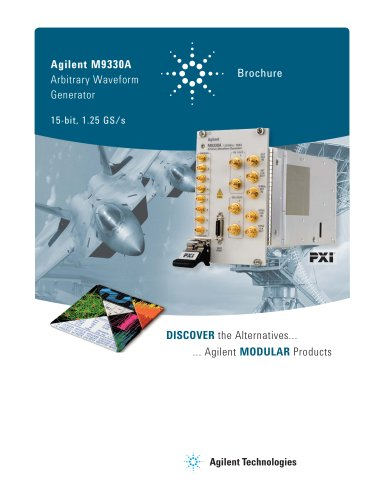 M9330A Arbitrary Waveform Generator, 15 bit, 1.25GS/s
