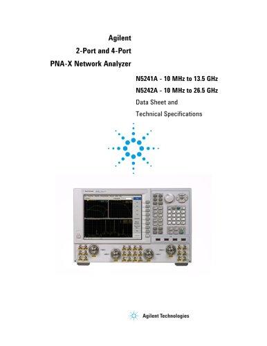 N5241A PNA-X Microwave Network Analyzer