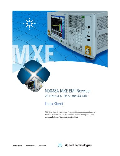 N9038A MXE EMI Receiver