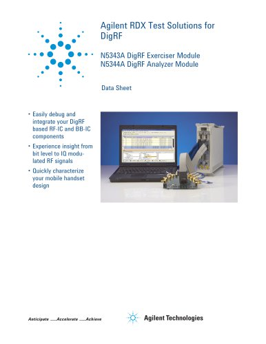 RDX Test Solutions for DigRF