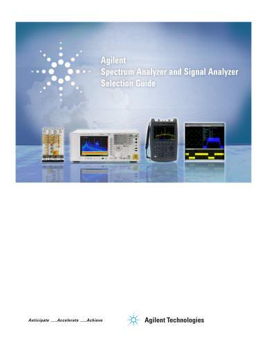 Spectrum Analyzers (Signal Analyzers)