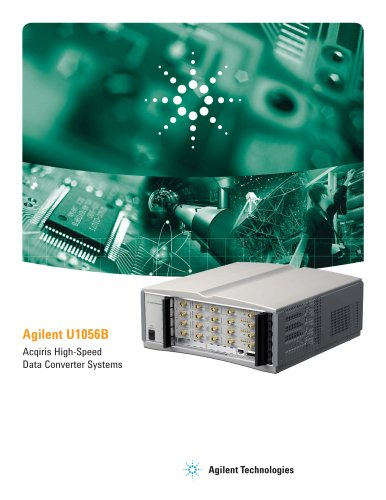 U1056B Acqiris Data Acquisition Systems and Software