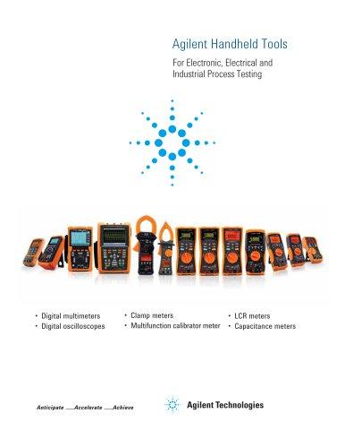 U1600 Series Handheld Oscilloscopes