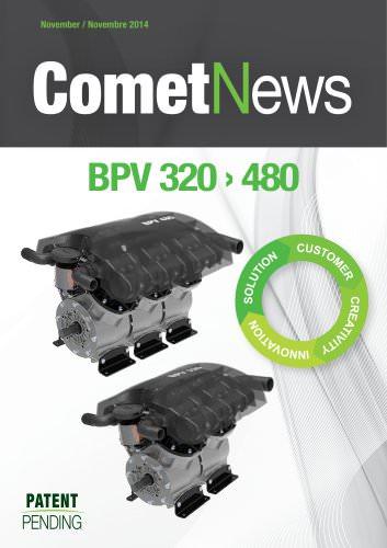Comet News - BPV 320 / 480