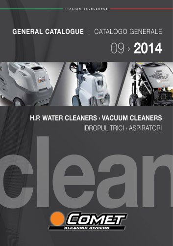 H.P. WATER CLEANERS - VACUUM CLEANERS