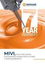 MIVI 7 year warranty