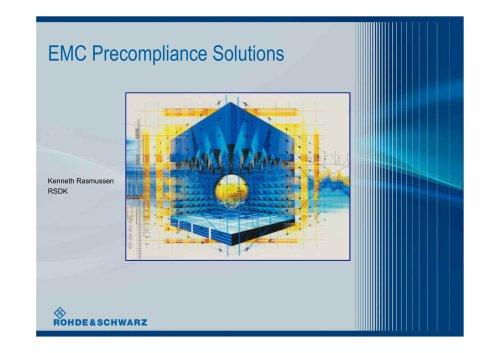 EMC Precompliance Solutions