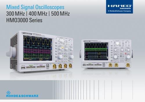 HMO Compact Digital Oscilloscopes