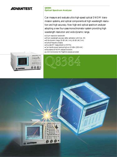 Q8384 Optical Spectrum Analyzer