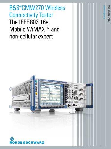 R&S®CMW270 Wireless Connectivity Tester
