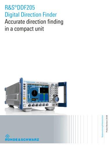 R&S®DDF205 Digital Direction Finder