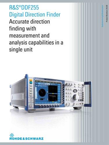 R&S®DDF255 Digital Direction Finder - Product Brochure