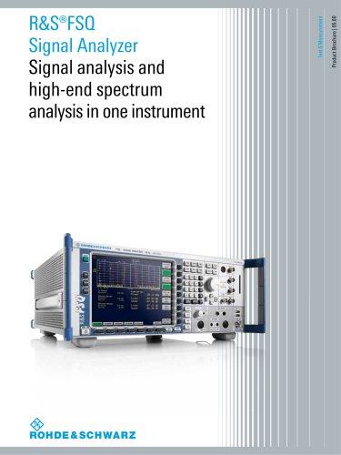 R&S®FSQ Signal Analyzer