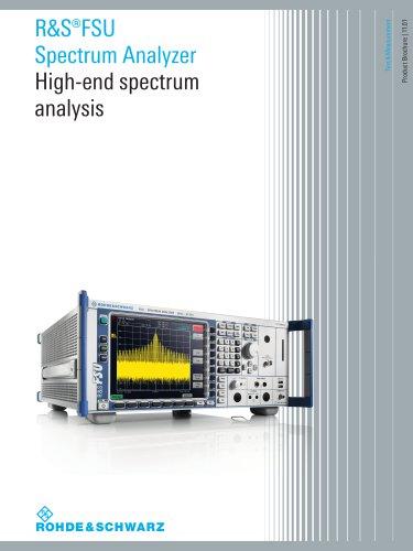 R&S®FSU Spectrum Analyzer