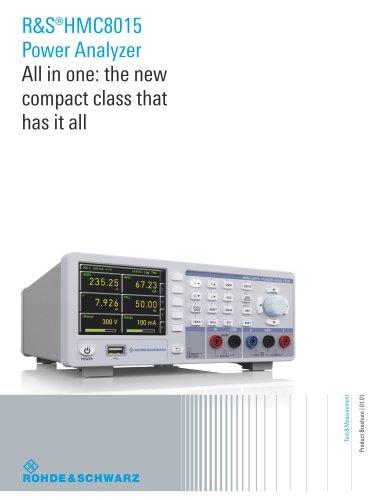 R&S®HMC8015 PowerAnalyzer