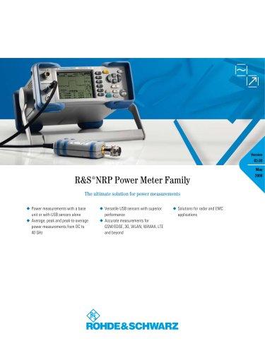 R&S®NRP Power Meter
