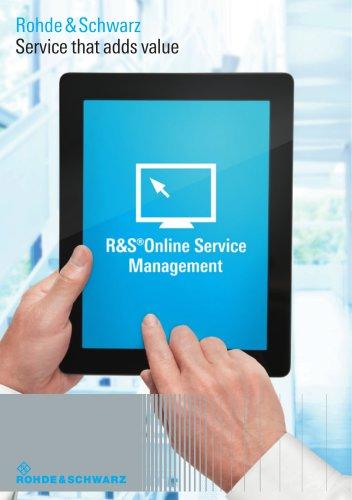 R&S Online Service Management