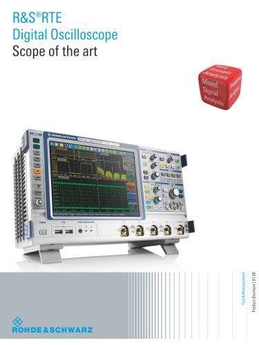 R&S®RTE-B1 Mixed Signal, 400 MHz