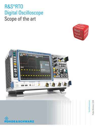 R&S®RTO Digital Oscilloscopes