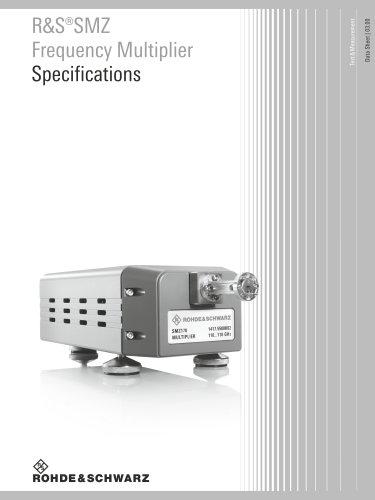 R&S®SMZ Frequency Multiplier