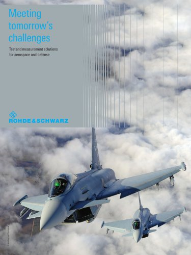 Test and measurement  solutions  for aerospace and defense
