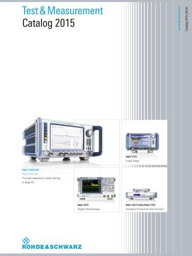 Test & Measurement Products (Print) Division 1 catalog