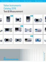 Value Instruments Catalog