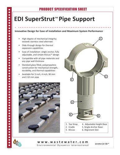 EDI SuperStrut ? Pipe Support - Environmental Dynamics