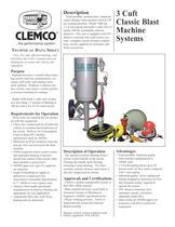 3 Cuft Classic Machine System (Rev. E)
