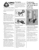 6 Cuft Contractor Machine System with LP Respirator (Rev. D)