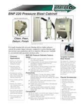BNP 220 Pressure Blast Cabinet (Rev. E)