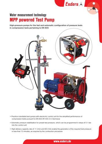 MPP powered Test Pump