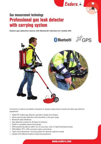 Professional gas leak detector