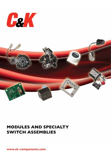 Modules & Specialty Switch Assemblies Catalog