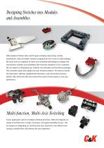 Modules & Specialty Switch Assemblies Catalog - 4