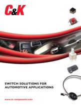 SWITCH SOLUTIONS FOR AUTOMOTIVE APPLICATIONS - 1