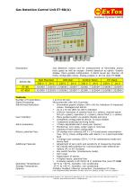 Gas Detection Control Unit ET-8D(A)