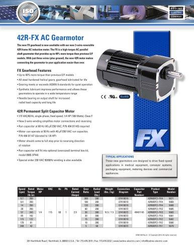 42R-FX AC Gearmotor