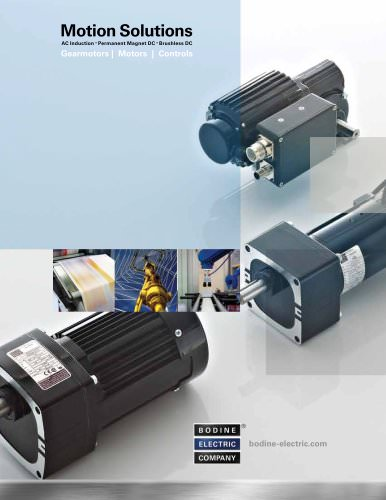 Custom Solutions Brochure - Bodine 2011