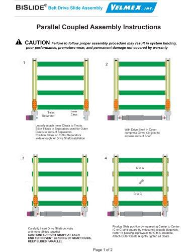 B SI LIDE Belt Drive Slide Assembly