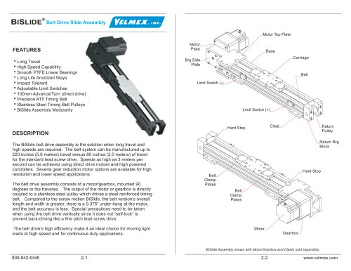 Linear stage- Belt driven with step motor