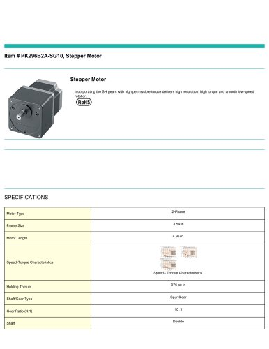 PK296B2A-SG10,_StepperMotor