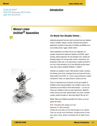 Positioning systems for industry and science