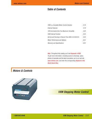 Velmex VXM Programmable Step Motor Control + Driver