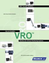 VRO™ Digital Readout Spec Sheet